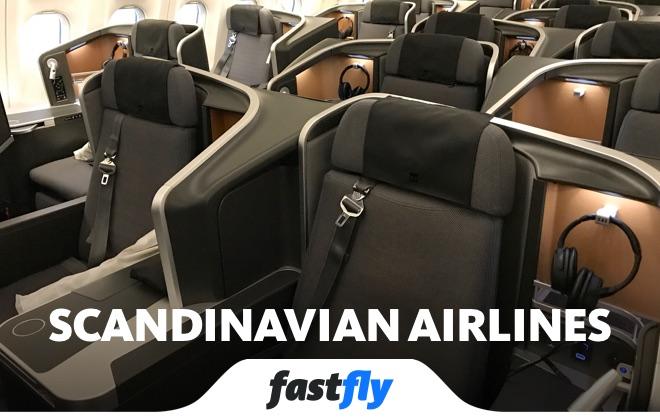 scandinavian airlines uçuşları