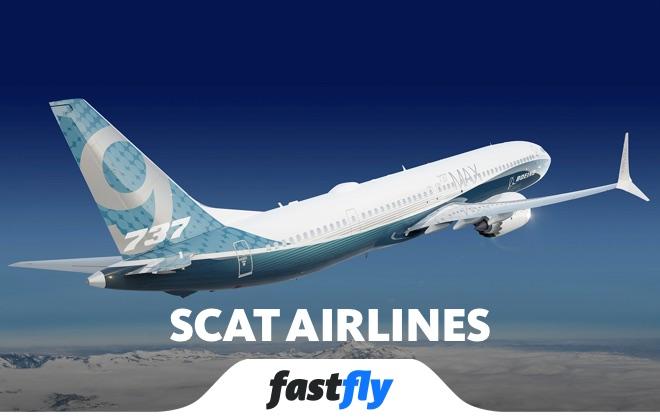 scat airlines uçuşları