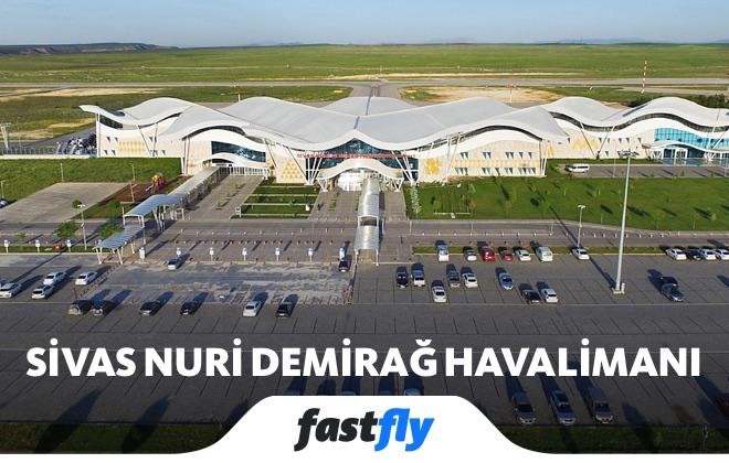 sivas nuri demirağ havalimanı uçak bileti