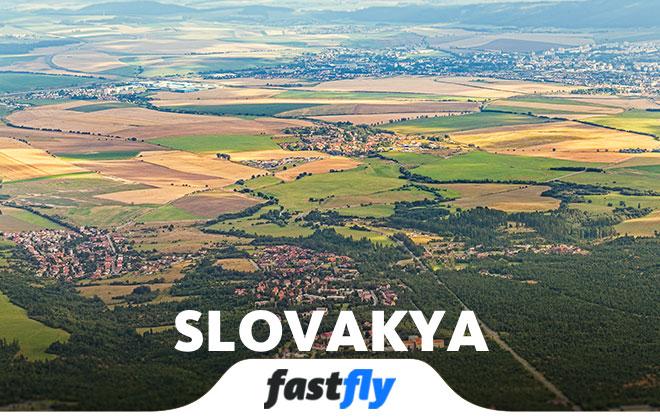 slovakya uçak bileti
