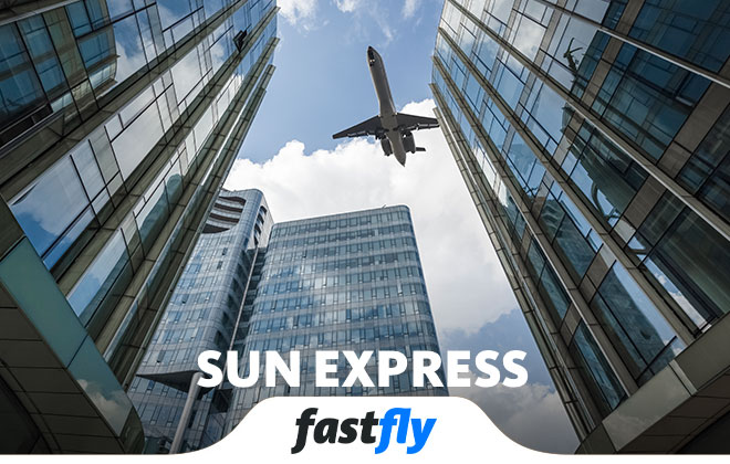 sun express nerelere uçuyor