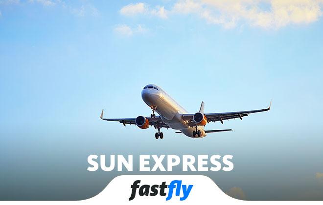 sun express uçakları