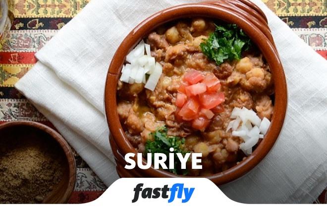 suriye yemek kültürü