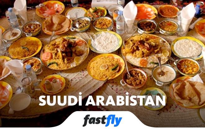 suudi arabistan yemek kültürü