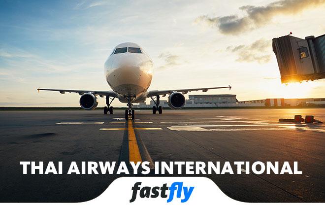 Thai Airways International nerelere uçuyor