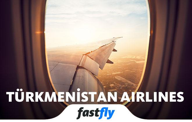 Türkmenistan Airlines uçakları