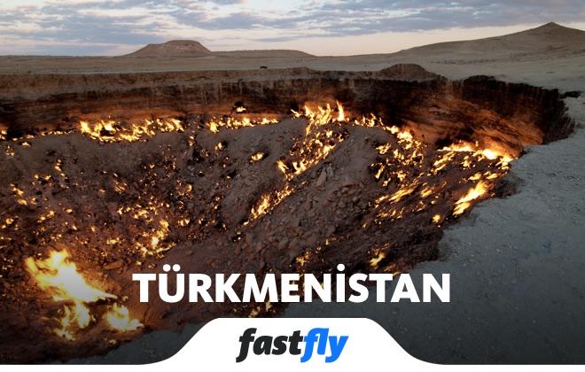 türkmenistan cehennem kapısı