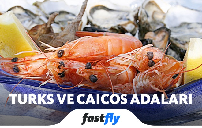 turks ve caicos adaları yemek kültürü