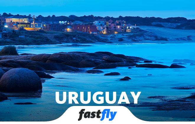 uruguay uçak bileti