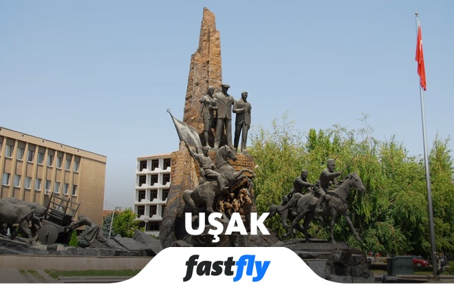 uşak Atatürk anıtı