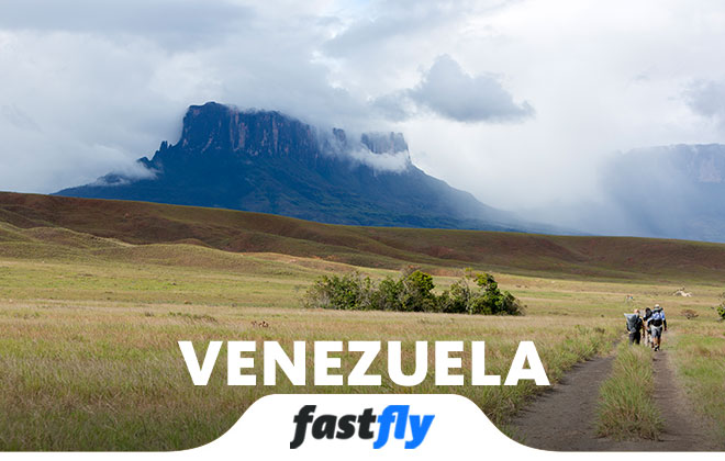 venezuela nasıl gidilir