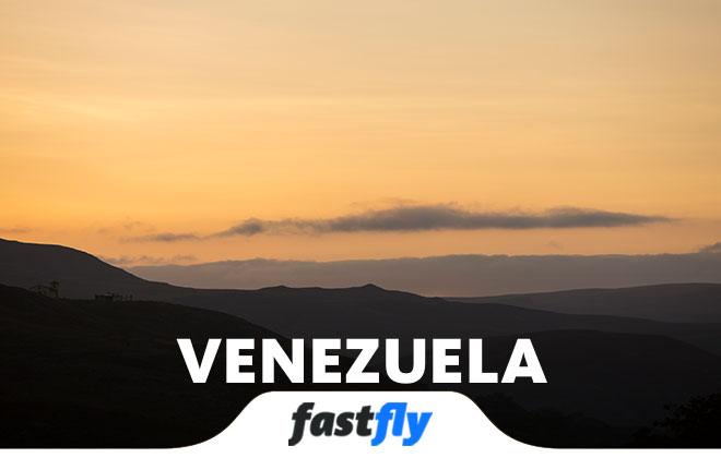 venezuela uçak bileti