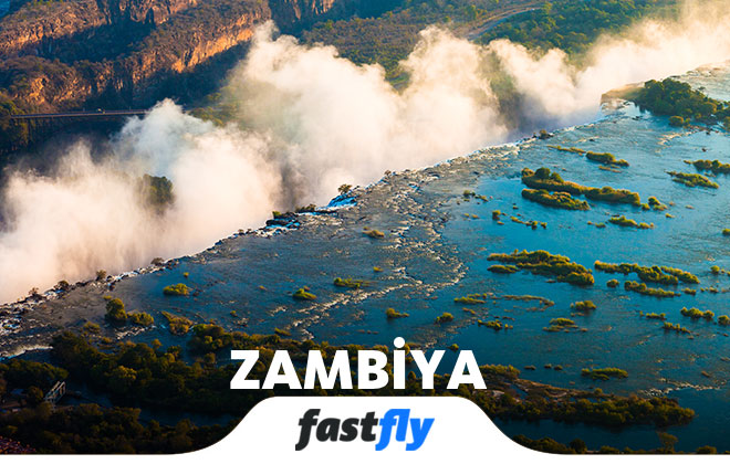 zambiya uçak bileti